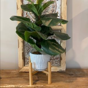 NWOT Bamboo Plant Stand